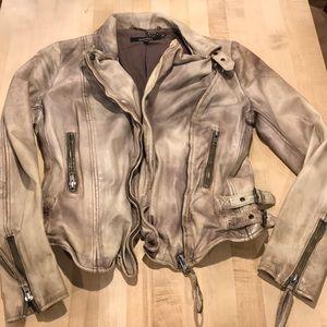 Gently worn Muubaa leather jacket